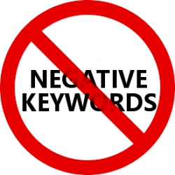 Forget Negative Keywords
